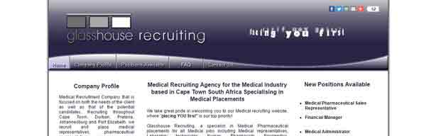 medical recruitment agency specialising in medical placements, providing medical representative jobs in the medical field including pharmaceutical, surgical sales, laboratory technicians, nurses, pharmacists, paramedics and physiotherapists