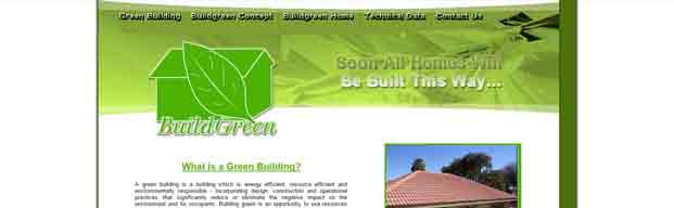 Energy Efficient Resource Efficient & Environmentally Responsible Building Website
